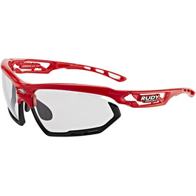 Rudy Project Fotonyk Occhiali, fire red gloss - impactx photochromic 2 black